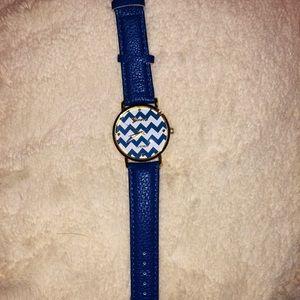 Blue Chevron Watch!